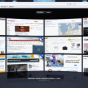 Meistbesuchte Seiten werden im Safari-Browser in Form einer Wand dargestellt. (Bild: Screenshot)