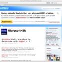 Microsoft hat seinen Support-Kanal im Juni 2010 - und damit recht spät - gestartet. (Bild: Netzwelt)