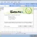 Die Tabellenkalkulation Quattro Pro steht dem großen Vorbild Excel in nichts nach. (Bild: Netzwelt)