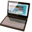 Das erste Notebook mit zwei 14 Zoll großen Touchscreens.