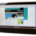 23 Zoll großer Bildschirm im All-in-One-Rechner.