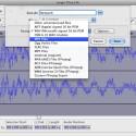 Audacity unterstützt alle wichtigen Formate, u.a. auch MP3 und Ogg Vorbis. (Bild: Netzwelt)