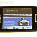 Flash-Inhalte kann das Handy aufgrund der limitierten Hardware allerdings nicht direkt im Browser darstellen. (Bild: netzwelt)