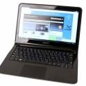1,3 Kilogramm leichtes Notebook mit mattem 13,3 Zoll großen Bildschirm.