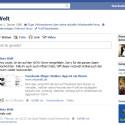 """Um ihre Einstellungen für Fanpages zu überprüfen klicken Sie auf der Startseite auf """"Profil bearbeiten"""". (Bild: Screenshot)"""