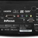 Eine Besonderheit ist der M1-DA-Eingang, über den man mit dem mitgelieferten Adapter eine zweite HDMI-Quelle anschließen kann.