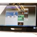 All-in-One-PC mit 21,5 Zoll großem Touchscreen und einer Full-HD-Auflösung.