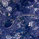 Auch Deutschland wurde fotografiert: Das Foto zeigt Köln. (Bild: ESA/NASA)