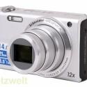 Das Objektiv verfügt über einen zwölffachen Zoom. Umgerechnet ins Kleinbildformat reicht die Brennweite von 24 bis 288 Millimeter.