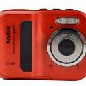 Günstige, wasserdichte Kamera, die bis zu drei Meter tief tauchen kann.