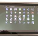 Das Tablet funktioniert auch im Hochformat, bequemer ist aber das Querformat.