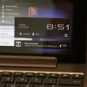 Unterhalb der Tastatur befindet sich ein zweiter Akku.