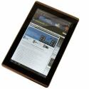 Das Tablet mit 10,1 Zoll großem IPS-Touchscreen erkennt automatisch Hoch- und Querformat und dreht die Ansicht entsprechend.
