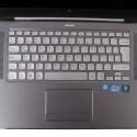 Zugunsten der Lautsprecher verzichtet Dell auf einen Nummernblock bei der Tastatur.