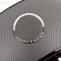 Oben auf dem Lautsprecher-Ring befindet sich eine große Snooze-Taste, über die sich der Wecker in den Schlummer-Zustand versetzen lässt. (Bild: netzwelt)