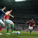 Zweikämpfe sind ein wesentliches Element in PES 2012. (Bild: Konami)