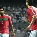 Der Hersteller will auch das Teamgefühl aus dem echten Fußball auf PC und Konsole übertragen. (Bild: Konami)