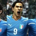 Bis auf die Schweißflecken genau - sind die neuen Spielermodelle von PES 2012. (Bild: Konami)