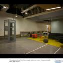 Auch eine Telefonzelle ist im neuen Hauptsitz vorhanden. (Bild: Techcrunch)