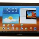 Samsung hat Honeycomb 3.1 mit seiner Touchwiz-Oberfläche überzogen.