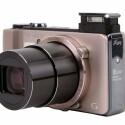 Objektiv mit 16-fachem Zoom verfügt über eine Brennweite von 24 bis 384 Millimetern - umgerechnet ins Kleinbildformat.
