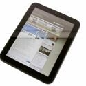 Surfen macht auf dem Tablet viel Spaß. Webseiten werden überwiegend korrekt dargestellt.