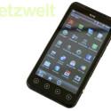 Als Betriebssystem kommt Android 2.3.4 zum Einsatz. (Bild: netzwelt)