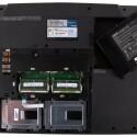Aufrüsten leicht gemacht: Der Nutzer gelangt schnell und unkompliziert an Arbeitsspeicher und Festplatten.