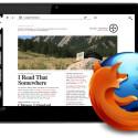 Mozilla passt die Smartphone-Version von Firefox für Tablets an. (Bild: Ian Barlow)