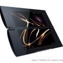 Das Tablet P besitzt zwei Bildschirme, die gemeinsam oder getrennt genutzt werden können. (Bild: Sony)