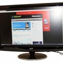 27 Zoll großer Monitor mit Full-HD-Auflösung.