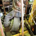 An allen vier Beinen des Roboters befinden sich Autoräder. (Quelle: Gigazine)