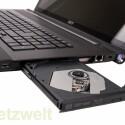 Blu-ray-Brenner, drei USB- und ein LAN-Anschluss.