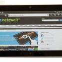 Ins Netz geht das HTC Flyer je nach Modell via WLAN oder 3G.