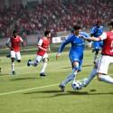 Auch das Verteidigungsspiel wurde bei FIFA 12 überarbeitet. (Bild: EA)