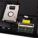 Arbeitsspeicher und Festplatte lassen sich leicht austauschen.