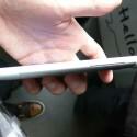 Das Unibody-Gehäuse ist nur noch 9,9 Millimeter dick. (Bild: netzwelt)