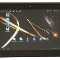 Android-Tablet mit 9,4 Zoll großem Touchscreen und Android Honeycomb.