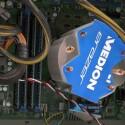 Insgesamt 16 Gigabyte Arbeitsspeicher verstecken sich auf diesem Foto und der Core i7-Prozessor unter dem Lüfter.