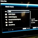Angeschlossene USB-Medien werden auf dem Startbildschirm aufgelistet. (Bild: netzwelt)