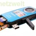 SD-Kartenschacht, USB-Arm, der HDMI-Anschluss und die Audio-Buchse sind hinter Abdeckungen vor Wasser geschützt.