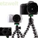 Test mit Canon Ixus 1100 HS, Sony NEX-3C und Canon EOS 7D.