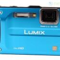 Robuste Outdoor-Kamera mit einer Tauchtiefe von zwölf Metern und einer Tauchtiefe von zwei Metern.