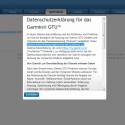 Der GPS-Tracker muss vor der Inbetriebnahme auf der Garmin-Seite registriert werden. (Bild: netzwelt)