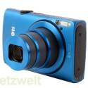 Das Objektiv der Kamera verfügt über einen achtfachen Zoom, umgerechnet ins Kleinbildformat reicht die Brennweite von 28 bis 224 Millimetern.