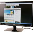 Das 23 Zoll große Display des Bildschirms ist entspiegelt und verfügt über eine Full-HD-Auflösung. (Bild: netzwelt)