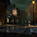Uncharted 3 beginnt mit einer Kamerafahrt durch die Gassen von London. (Bild: Sony, Naughty Dog)