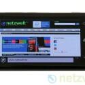 Der Browser ist schneller als auf den Symbian-Geräten. (Bild: netzwelt)