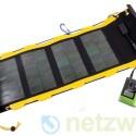 Nur in Verbindung mit dem Charger kann das Solarpanel Energie speichern. (Bild: netzwelt)