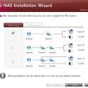 Bei der Installation schlägt die Software mehrere Netzwerkdesigns vor. (Bild: Screenshot)